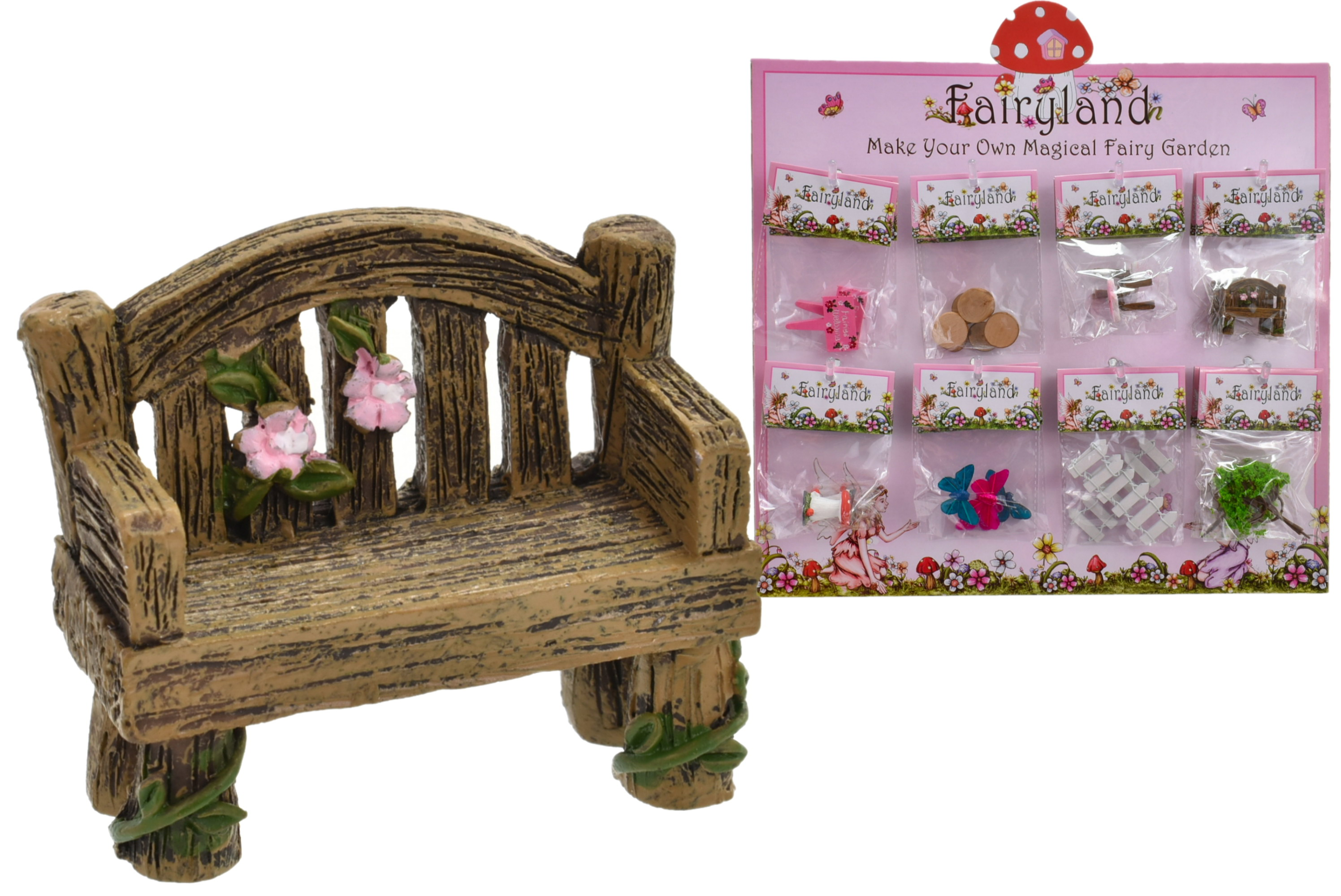 Fairyland Fairy Accessories 8 Assorted On Display Stand