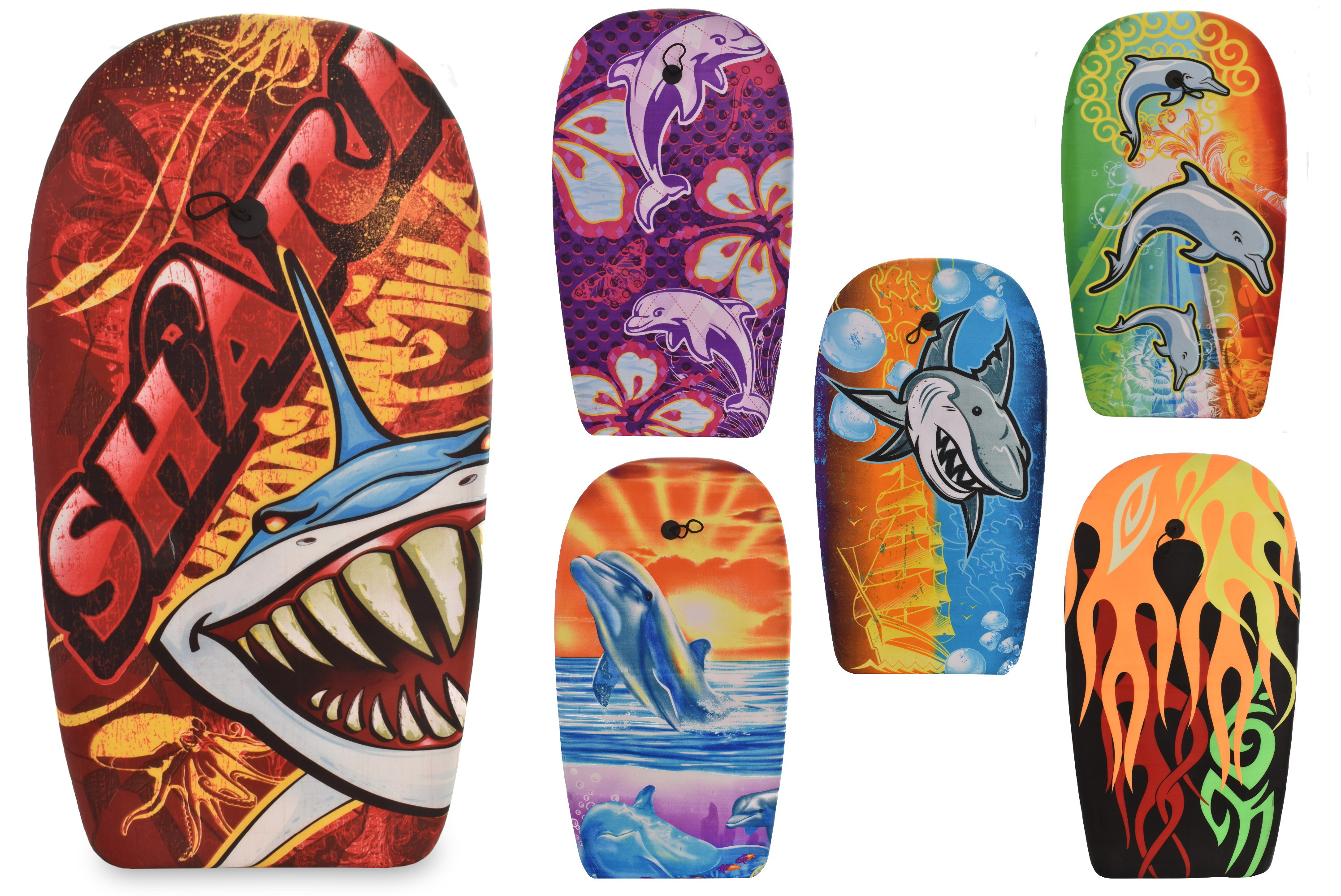 "41"" Eps Bodyboards - 6 Assorted Designs"