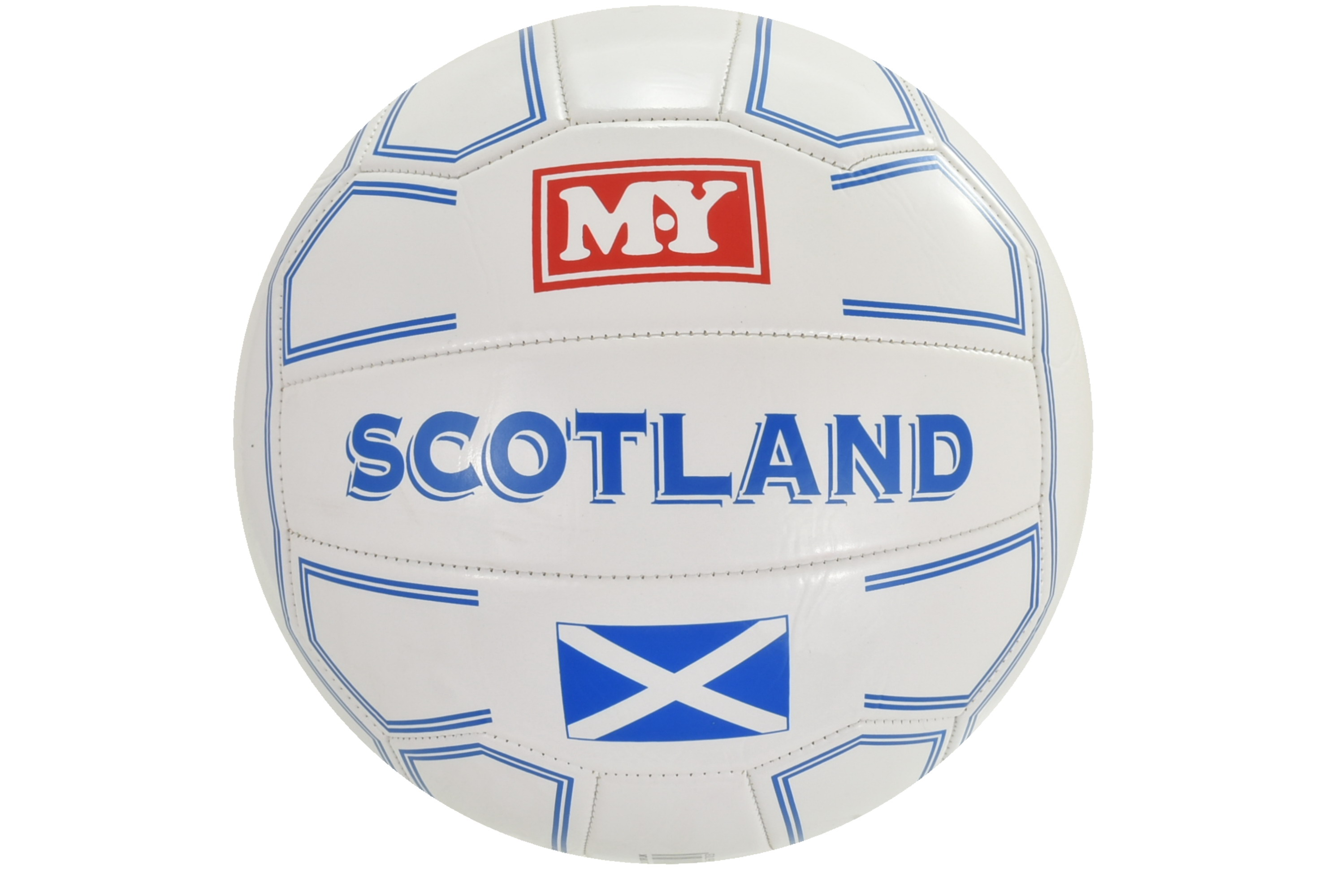 "18 Panel 280g Stitched ""Scotland"" Football (D)"