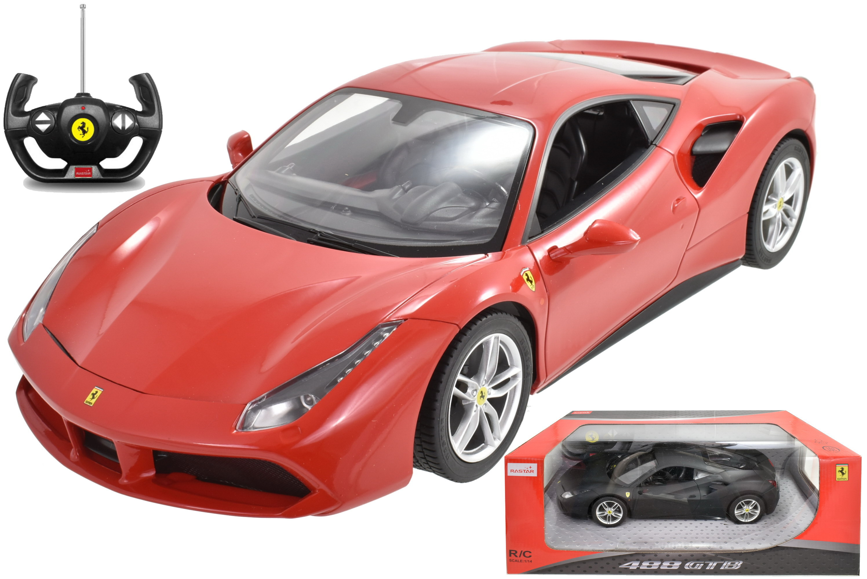 1:14sc R/C Ferrari 488 Gtb