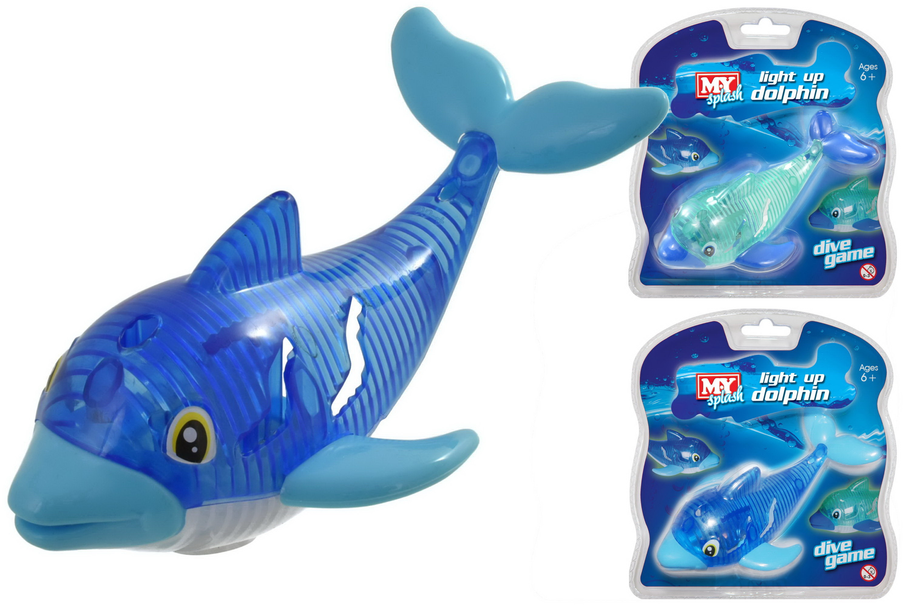 Dolphin Light Up Dive Game (2 Assorted Colours)