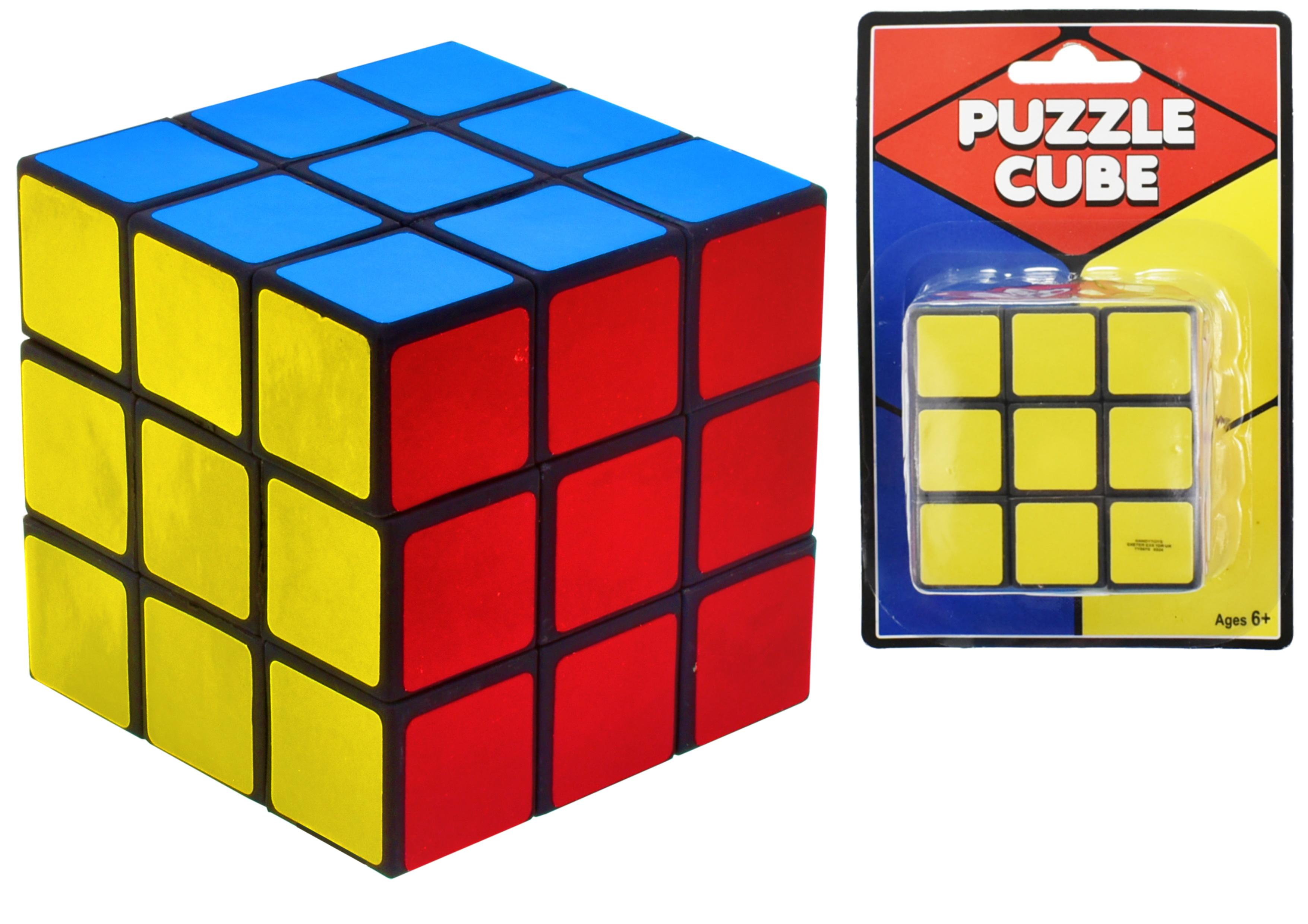 6.5cm x 6.5cm Puzzle Cube - Blistercard
