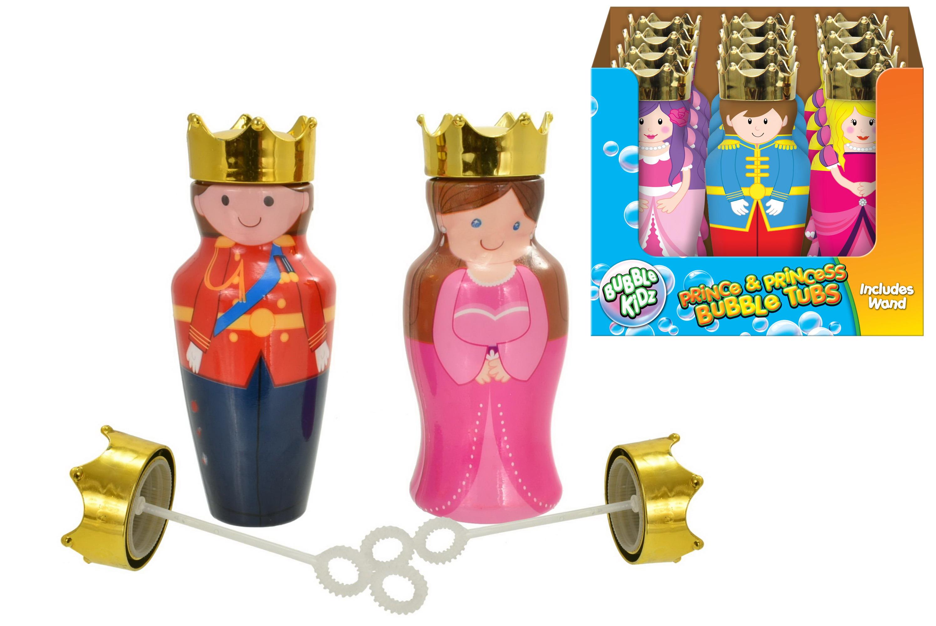 Prince & Princess Bubble Tubs In Display Box